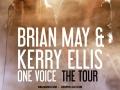 Brian May i Kerry Ellis plakat Kraków 2016