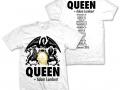Koszulka z datami biała
