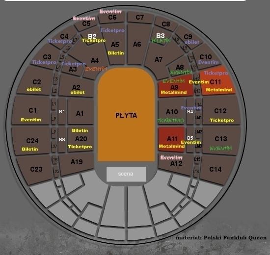 Bilety na koncert Queen+Adam Lambert w Krakowie
