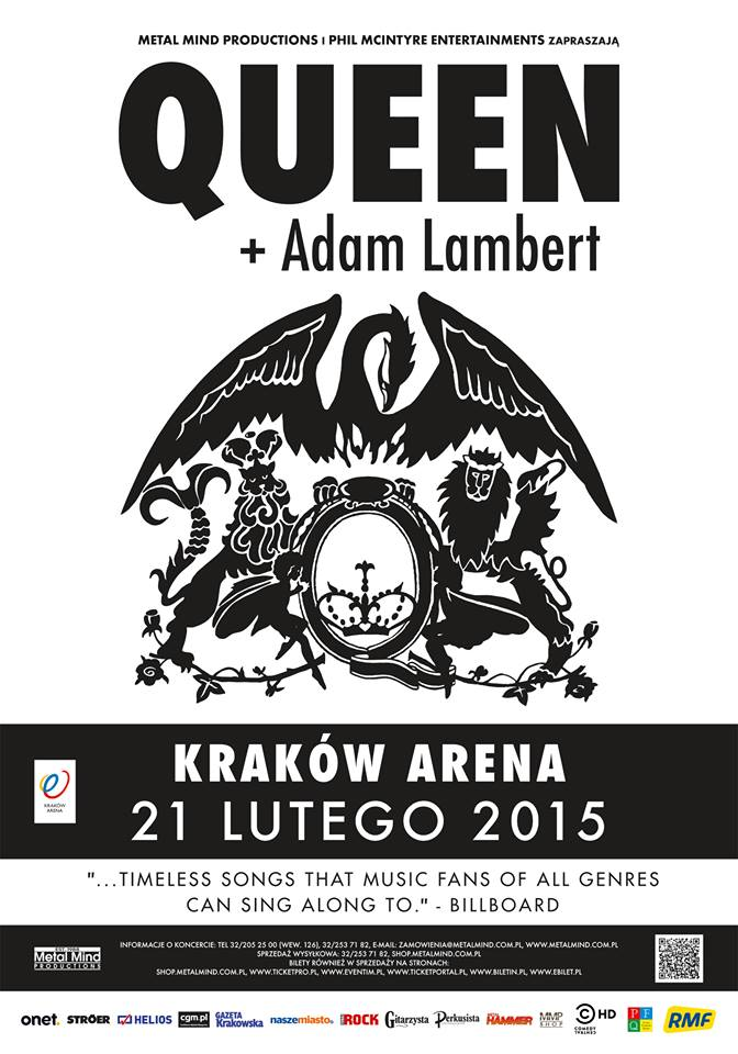 Oficjalny Plakat Koncertu Koncertqueenpl