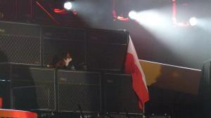 flaga na koncercie