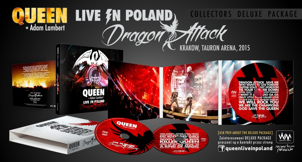 Dragon Attack.Krakow 2015 visual
